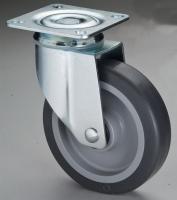 Cens.com 515雙剎平板TPR輪活動架 轉源工業有限公司
