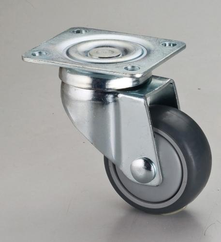 3*1双刹平板TPR轮活动架