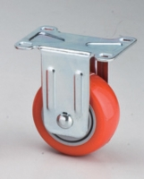 Cens.com 314 Uni-body PU Fixed Caster  JOAN YUAN INDUSTRIAL CO., LTD.