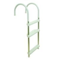 3-Step Aluminum Ladder/ Ladders / Watercraft Hardware / Marine Hardware