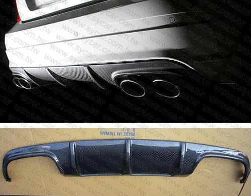 Mercedes-Benz W204 C63 Bumper Spoiler