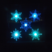Suction Cup Window Snowflake LED