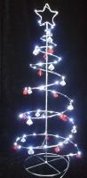 Battery Operated Iron Christmas Tree