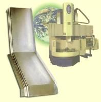 机器滑槽伸缩护盖