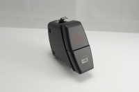 Hazard warning switch with central locking switch.