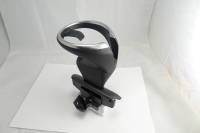 Removable cup holder with black cover for LHD