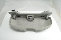 Tray for glasses, gray color.