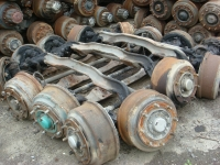 USED ENGINE / USED TRUCK PART(FRONT-AXLE)