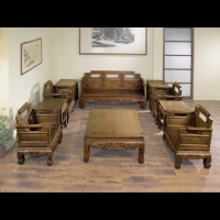 Ming-style Solid Wood Sofa