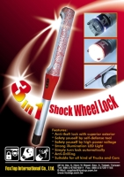 Cens.com 3-in-1 Shock Wheel Lock FOX TOP INTERNATIONAL CO., LTD.