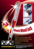 3-in-1 Shock Wheel Lock