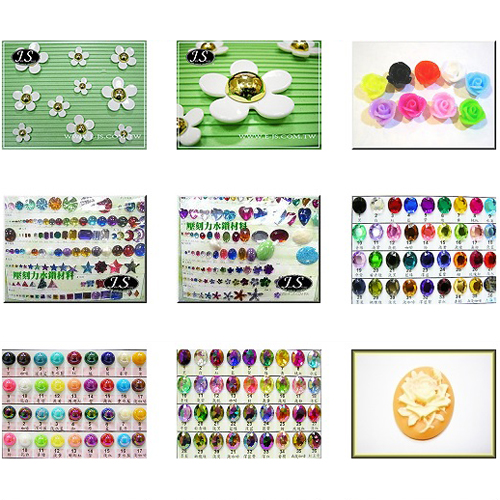 Wholesale acrylic rhinestones materials