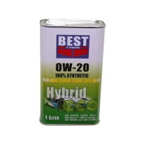 0W-20 100% synthetic engine oil for  Hybrid