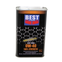 0W-40 100% synthetic engine oil