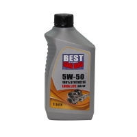 5W-50 100% synthetic engine oil