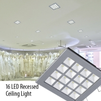 16 LED Recessed Ceiling Light