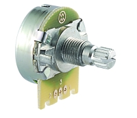 360° Rotary Potentiometer (Fiberglass element)