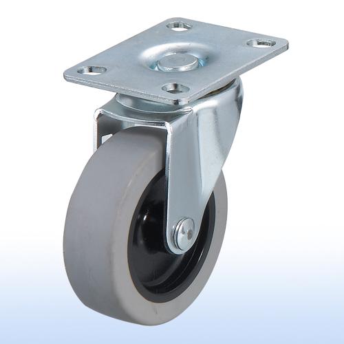 "3""x 1 Flat-plate Swivel Caster w/Brake"