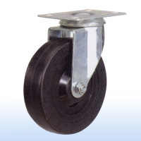 "Cens.com 5""x 1-1/4 Flat-plate Swivel Caster w/Brake TUNG LEE ENTERPRISE CO., LTD."
