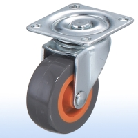 "Cens.com 2""x 7/8 Flat-plate Swivel Caster w/Brake TUNG LEE ENTERPRISE CO., LTD."