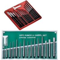 Chisel Set, Hand Tool Set, Chisel, Centering Punch, Cylinder Punch, Pricker, Cold Chisel