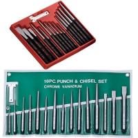 Chisel Set, Hand Tool Set, Chisel, Centering Punch, Cylinder Punch, Pricker, Cold Chisel
