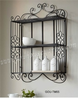 METAL WALL SHELF RACK