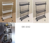 SLIM ROLLING STORAGE CART
