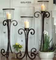 3 PCS CANDLE STAND