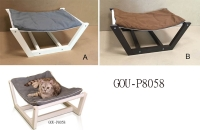 CONSOLE TABLE WITH PET FEEDERS