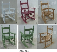 Cens.com KIDS WOODEN ROCKING CHAIR G.O.U. INTERNATIONAL CO., LTD.