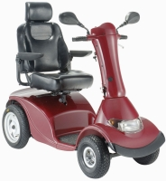 Large 4-wheel scooter