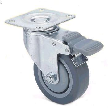 75mm TPR casters