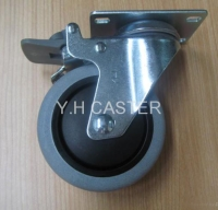 ESD/TPR conductive casters