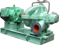 Cens.com Horizontal single suction two stages volute pump SAN TAI MACHINERY MFG. CO., LTD.