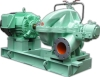 Horizontal single suction two stages volute pump