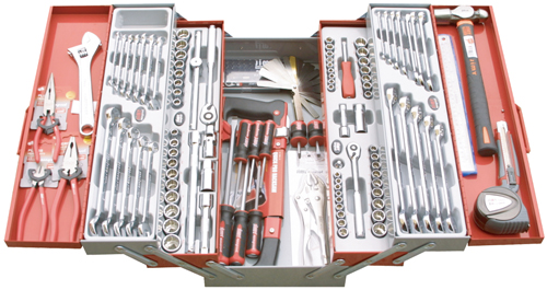 5-Drawer Cantilever Tool Kit,With Plastic Or Eva Inserts