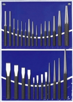 27PCS Punch & Chisel Set