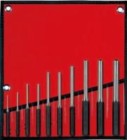 10PCS Roll Pin Punch Set