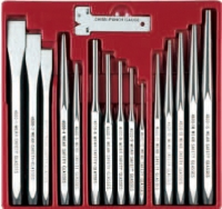 16PCS Punch & Chisel Set