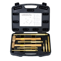 9PCS Brass Punch Set
