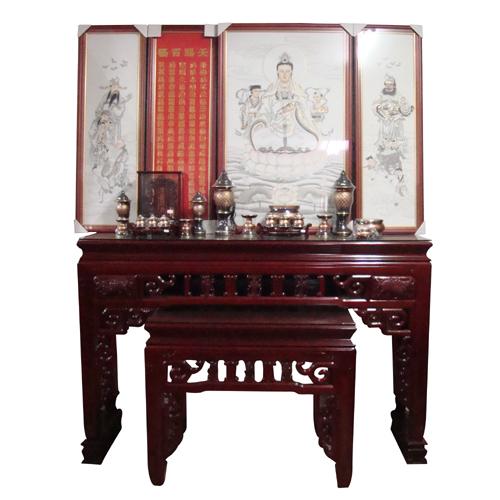 Mahogany Altar (H 5'8)