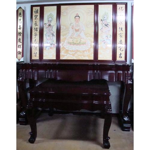Mahogany Altar (H 7')