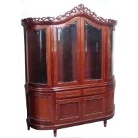 Mahogany Wine Cabinet