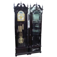 Ebony Grandfather Clock