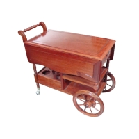 Mahogany Serving Cart