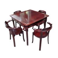 红木麻将桌椅