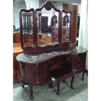 紅木化粧台