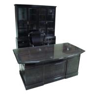 黑檀办公桌椅