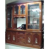 Mahogany Cabinet Room-Divider